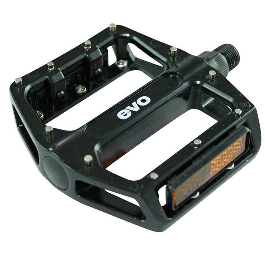 Evo MX6  Pedales plateformes  Crampons amovibles  Noir