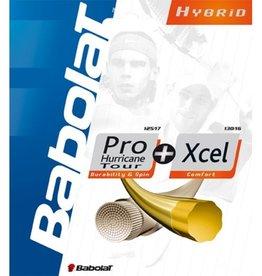 Babolat Babolat Hybrid Strings Pro Hurricane + Xcel