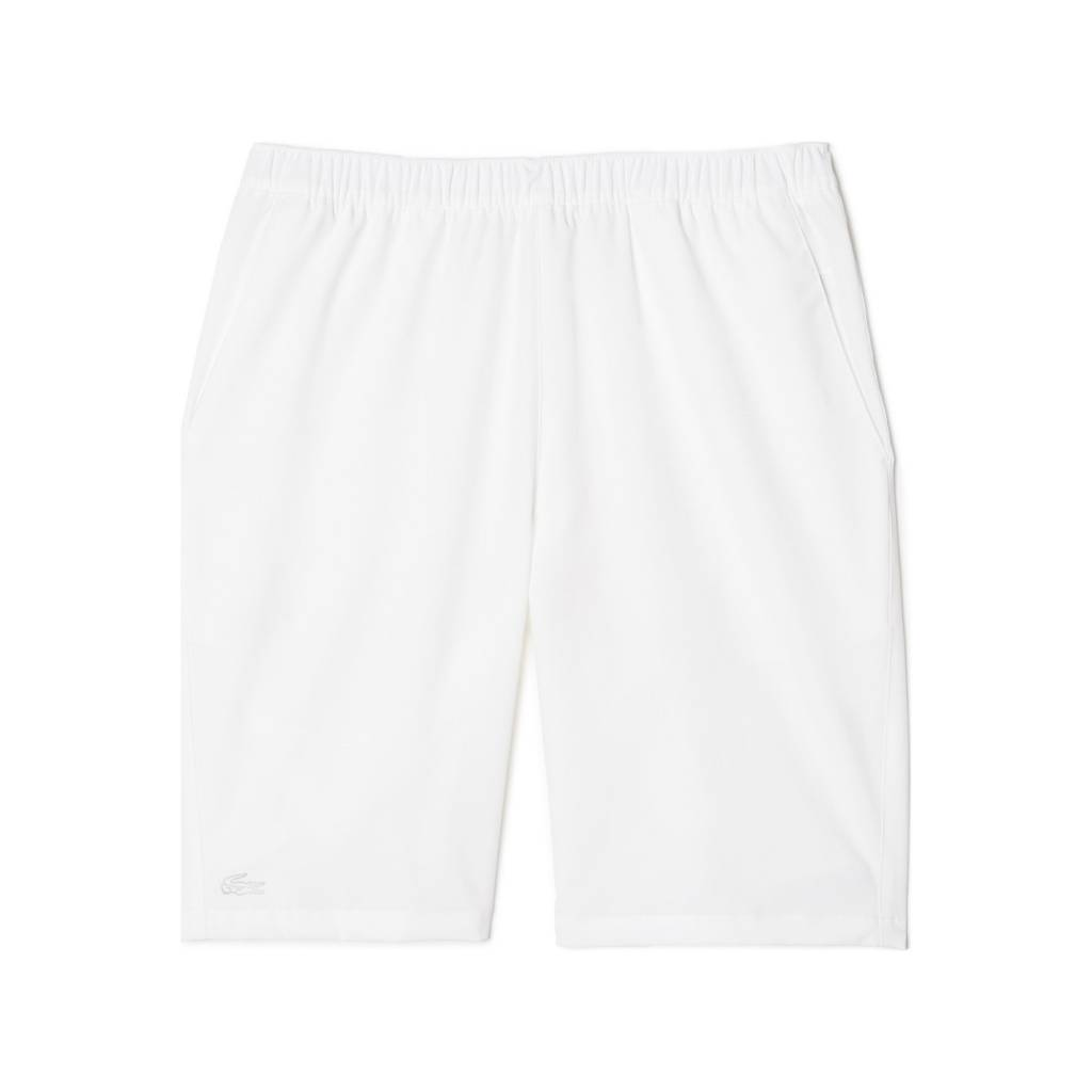 Lacoste Lacoste Men's Classic White Tennis Shorts