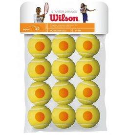 Wilson Wilson balles starter/point orange