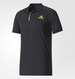 Adidas Adidas Men's Polo Barricade 2017 (noir & jaune)