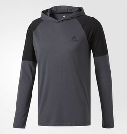 Adidas Adidas Men's Ultimate Hooded Tee (grey)