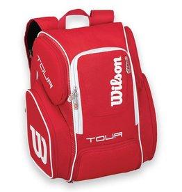 Wilson Wilson Tour V Red Tennis Backpack 2017  (2 Pack)