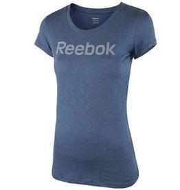 Reebok Reebok Women's Basic Blue Coton Tshirt
