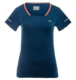 Lacoste Lacoste Women's Mesh Panel Tennis Tshirt