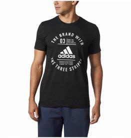 Adidas Emblématique three stripes Chandail noir