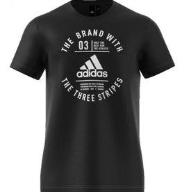 Adidas Adidas Emblématique three stripes chandail noir
