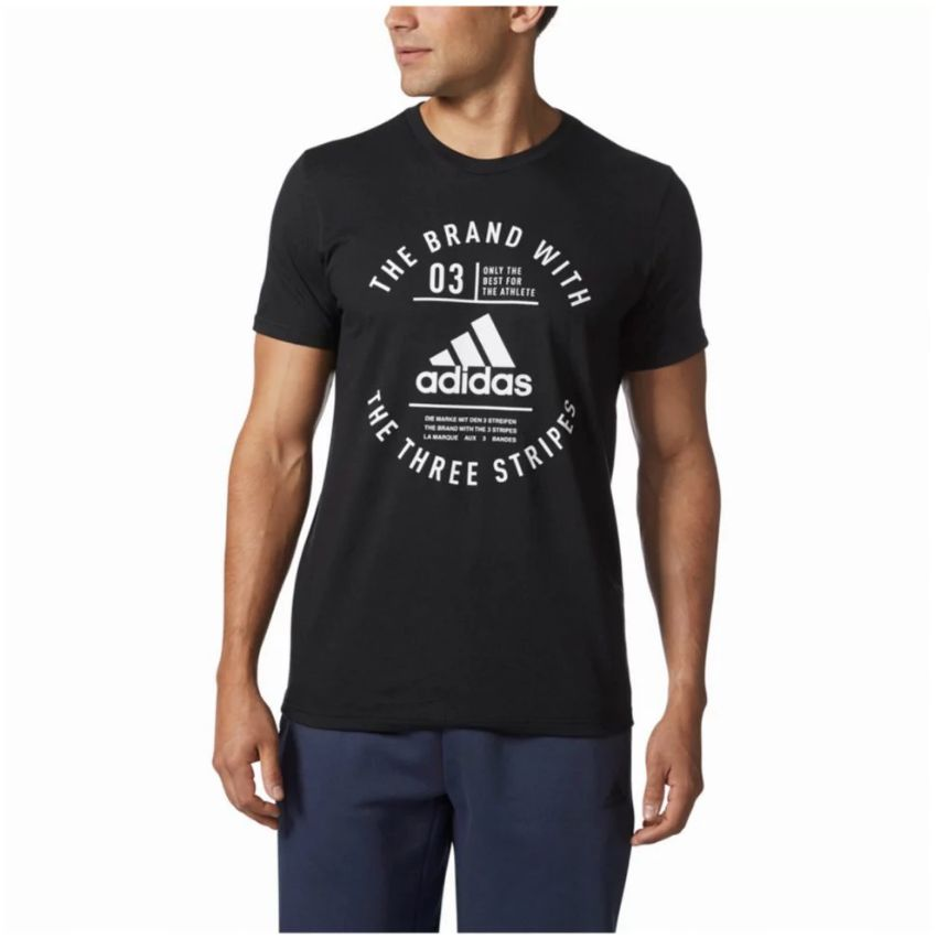 Adidas Adidas Emblématique three stripes chandail noir medium