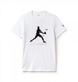 Lacoste Lacoste Djokovic T-Shirt White