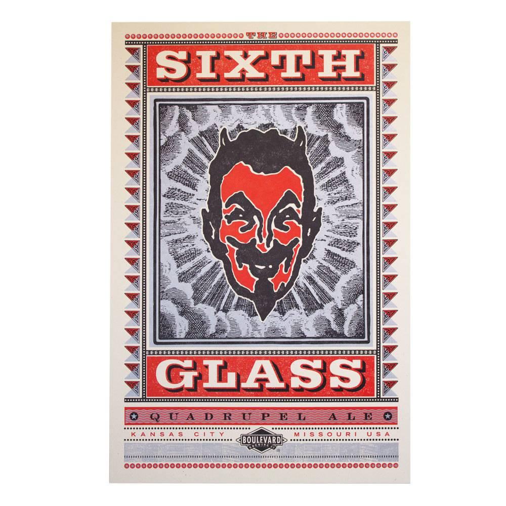 Hammerpress The Sixth Glass Poster