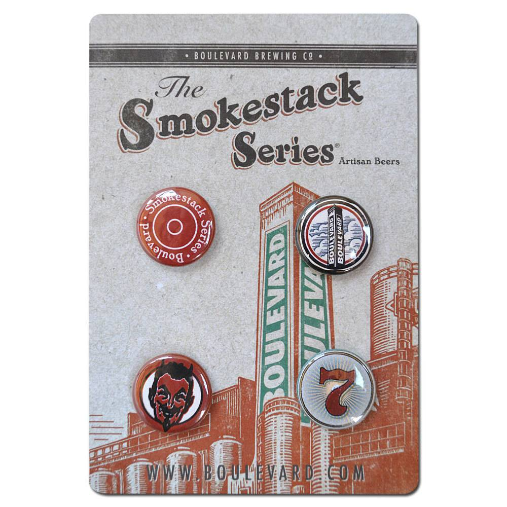 Smokestack Button Set