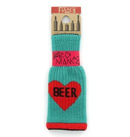 """Freaker Knit Coozie """"Bromance"""""""