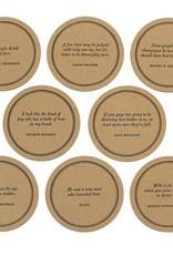 Beer Quote Coaster Set