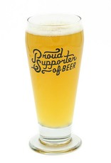 Sporting Proud Supporter Glass