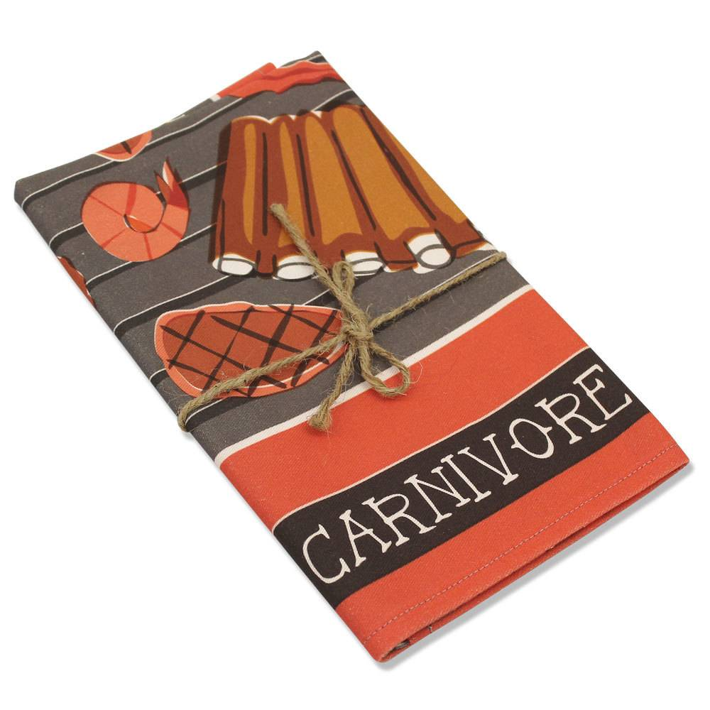 Carnivore Tea Towel