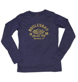 Women's Navy 1989 Long-Sleeve Tee