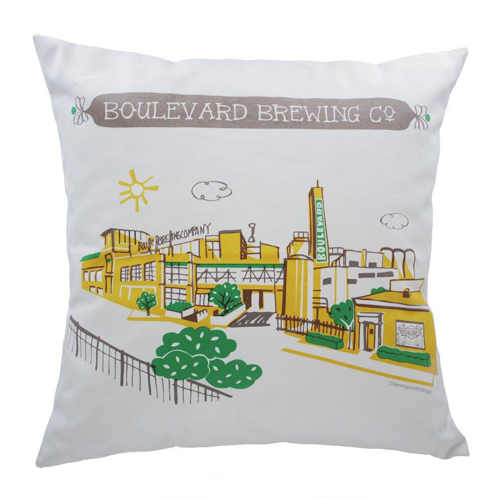 Brewery Pillow Cover