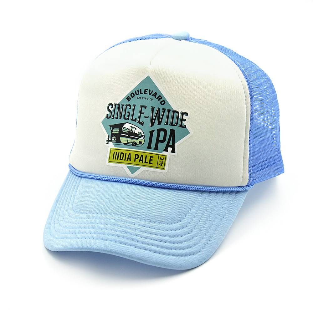 Single Wide IPA Foam Trucker Hat