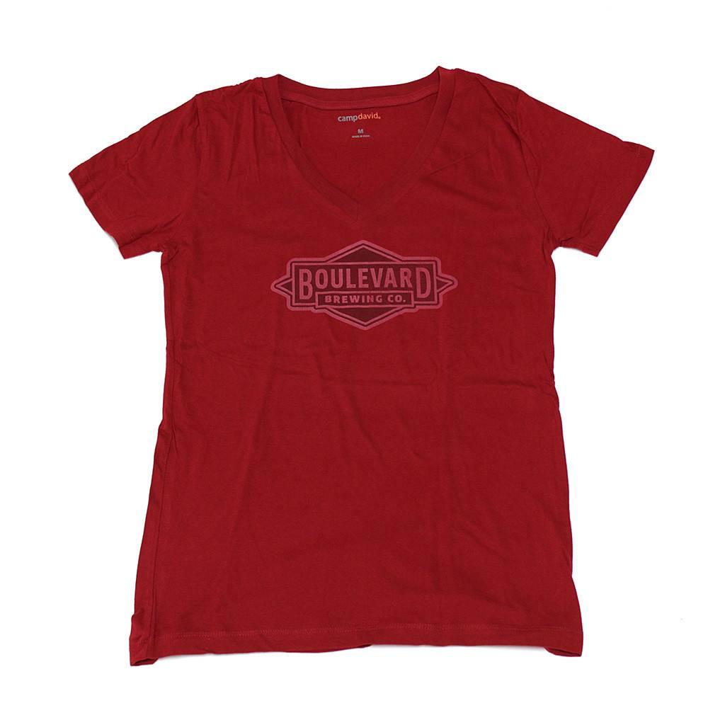 Women's Logo V-Neck Tee