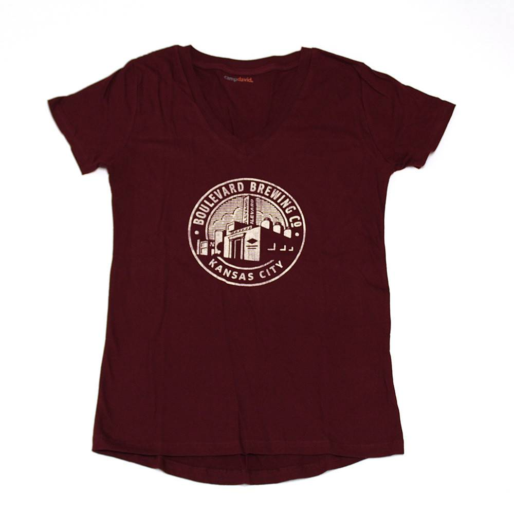Women's Circle Brewery Tee