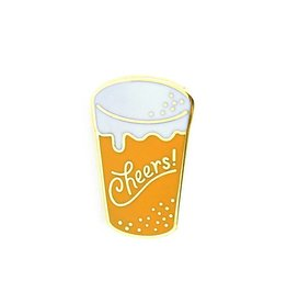 Cheers Enamel Pin