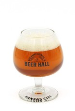 Beer Hall Logo Tasting Glass