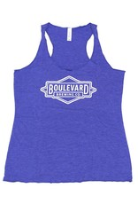Women's Royal Diamond Logo Tank
