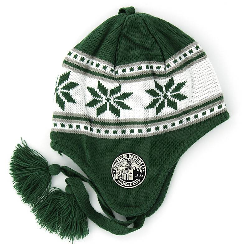 Dark Green Wampa Knit