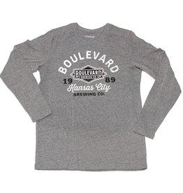 Boulevard 1989 Long Sleeve Tee gray