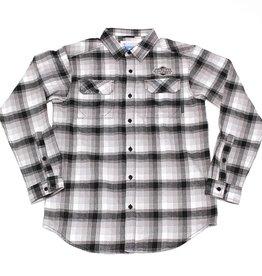 Columbia Men's Flare Gun Flannel Shirt BLACK