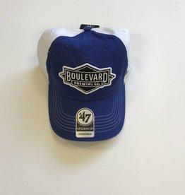 Diamond Logo Royal/White Closer Cap
