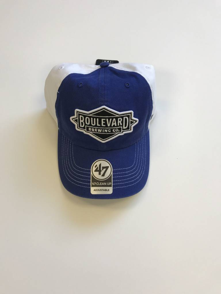 Diamond Logo Royal/White Closer Cap