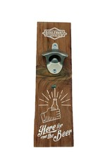 Here for the Beer Wall Mount Bottle Opener