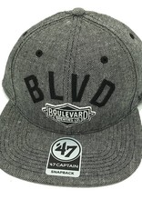 Boulevard Logo Herring Snapback