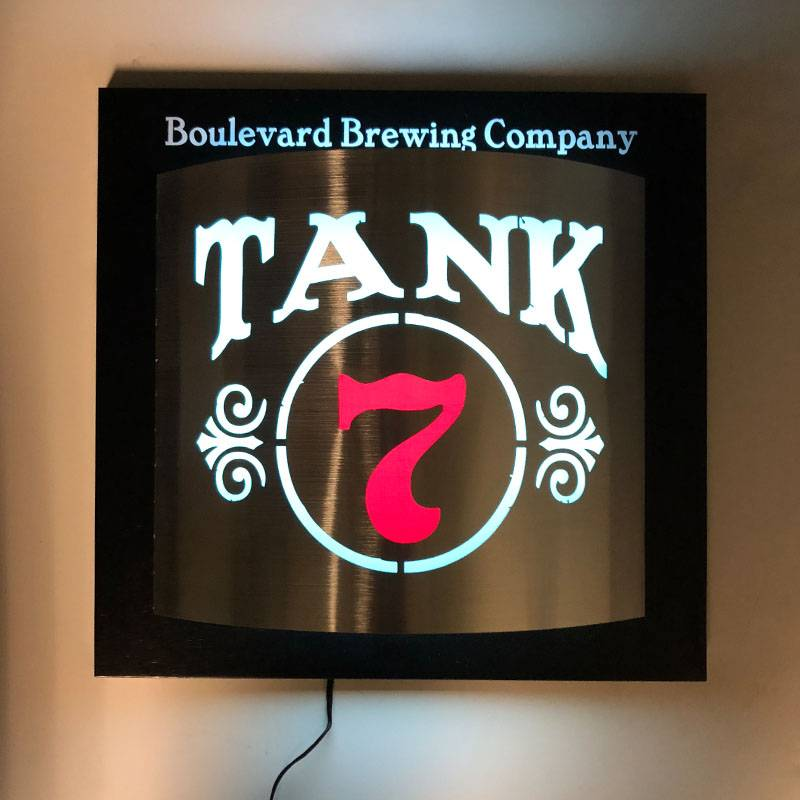 Tank 7 Sconce