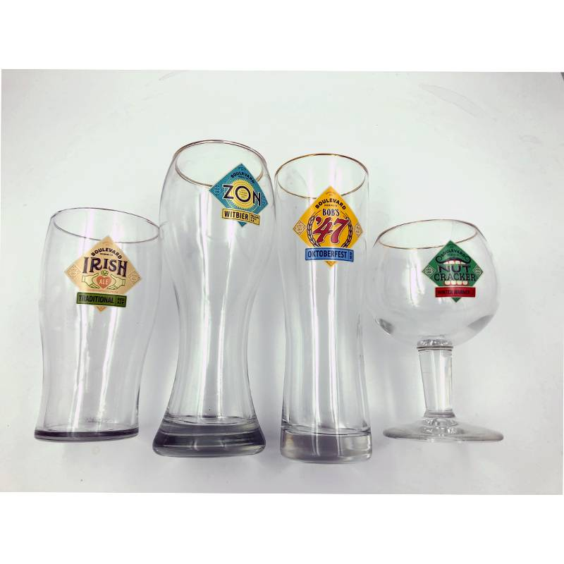 Halo Glass Four Pack Set