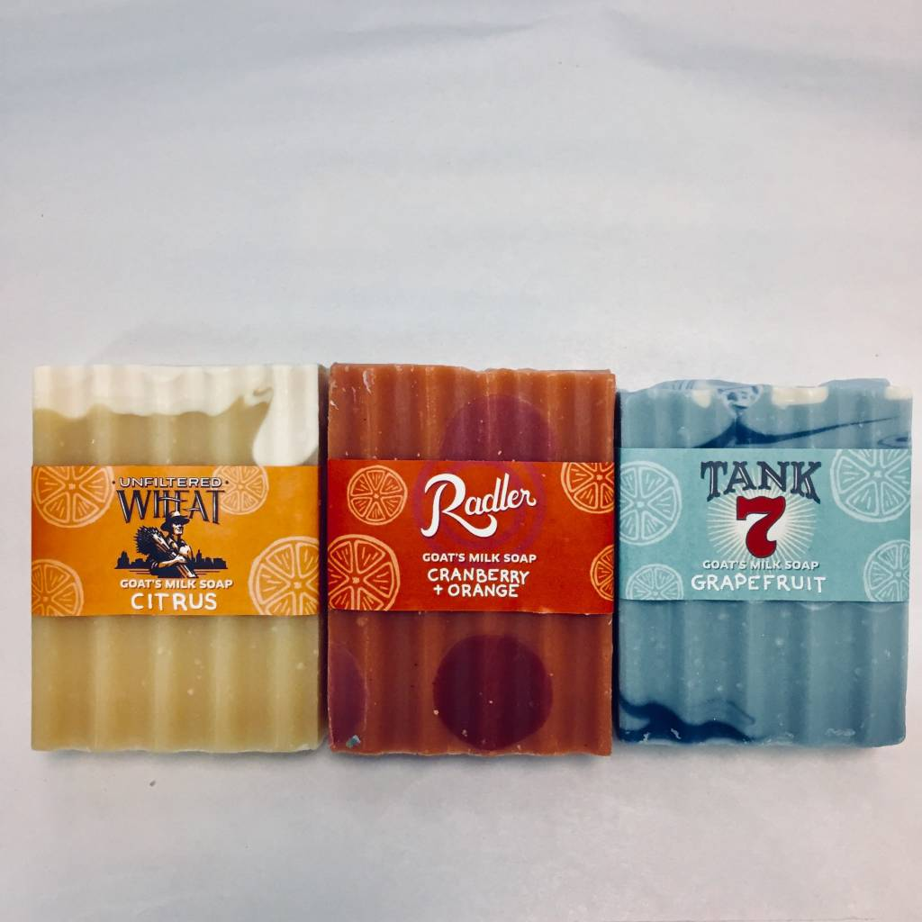 3 Pack Beer Soap