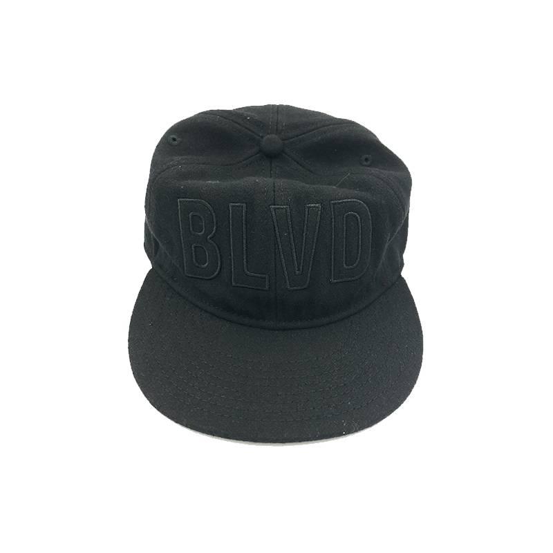 BLVD Black Wool Cap