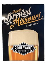 Proudly Brewed In Missouri Tin Tacker