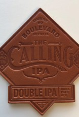 The Calling Leather Coaster