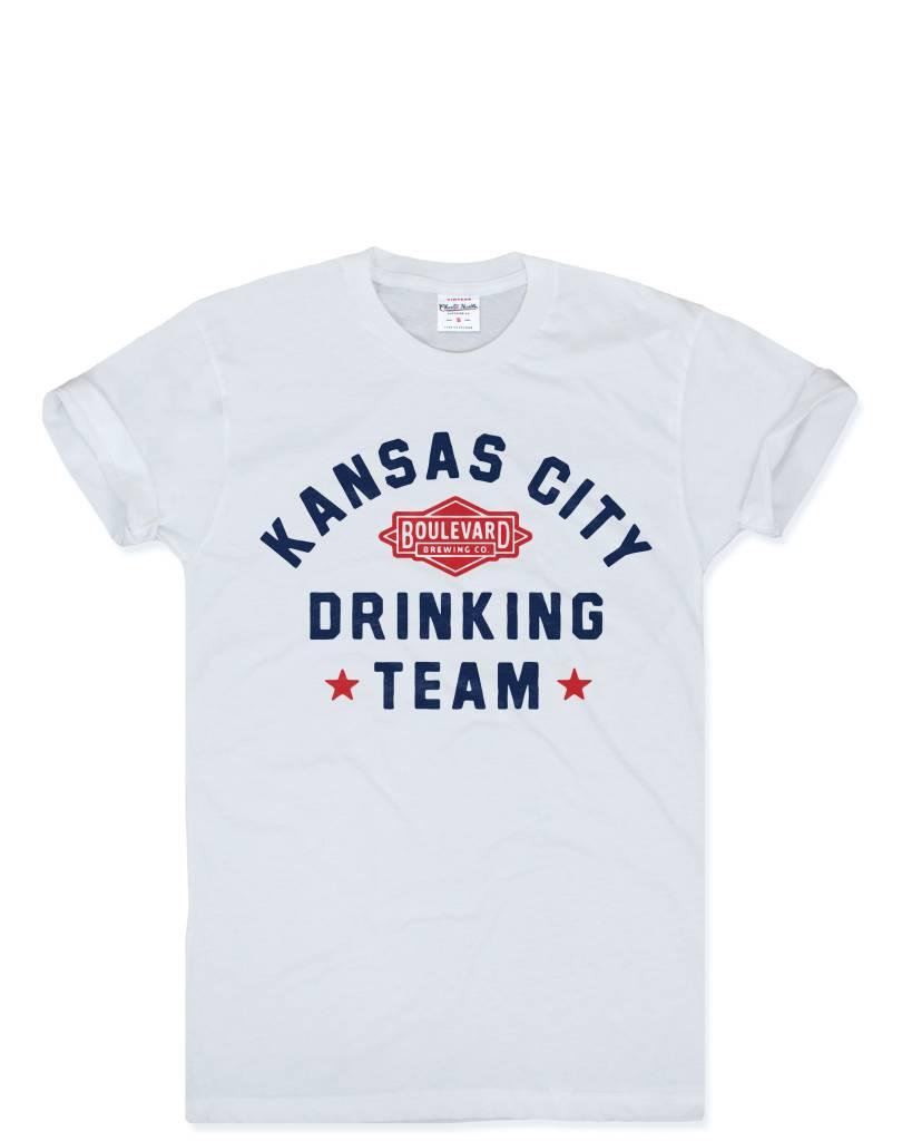 Charlie Hustle Drinking Team Tee