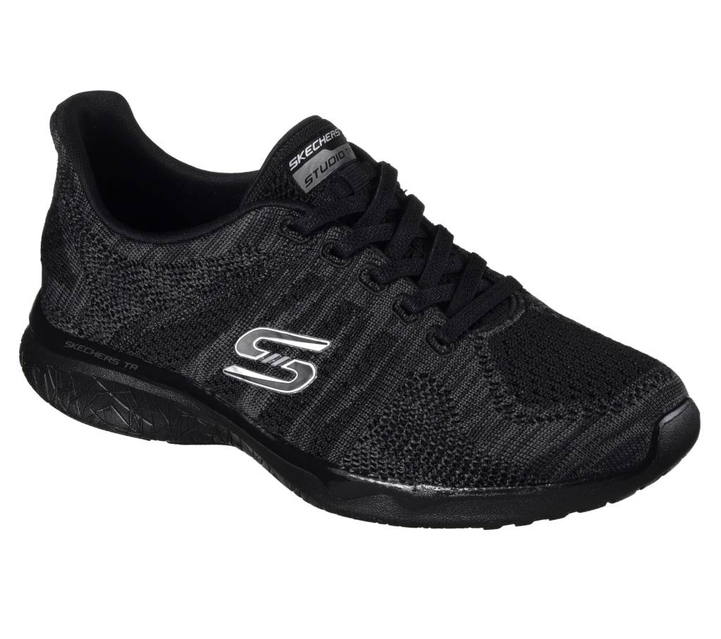 SKECHERS Skechers Studio Burst Edgy 23388 BKCC Women's Shoes ...