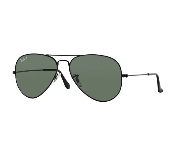 9142e192d0 ... coupon code for ray ban ray ban aviator classic rb3025 002 58 58mm  black polarized green ...