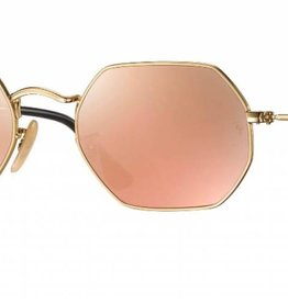 d8180ae9404 Ray-ban Octagonal Rb3556n 001 z2 Gold Copper Flashing - Bitterroot ...