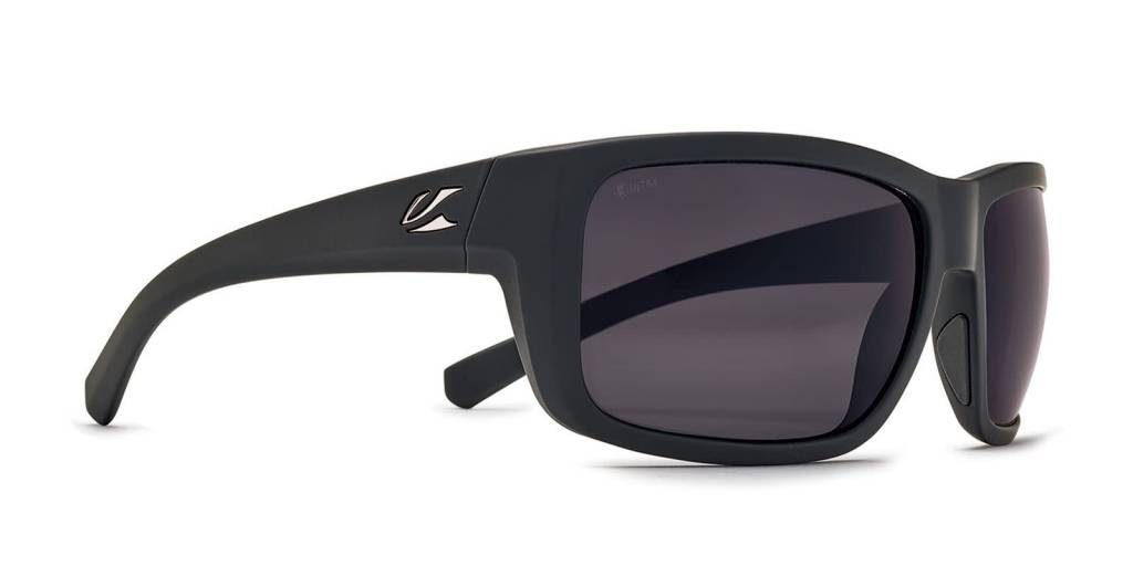 KAENON Kaenon Redwood 050BKMGGN UG12 64mm Black Matte Grip G12 Ultra Grey Sunglasses