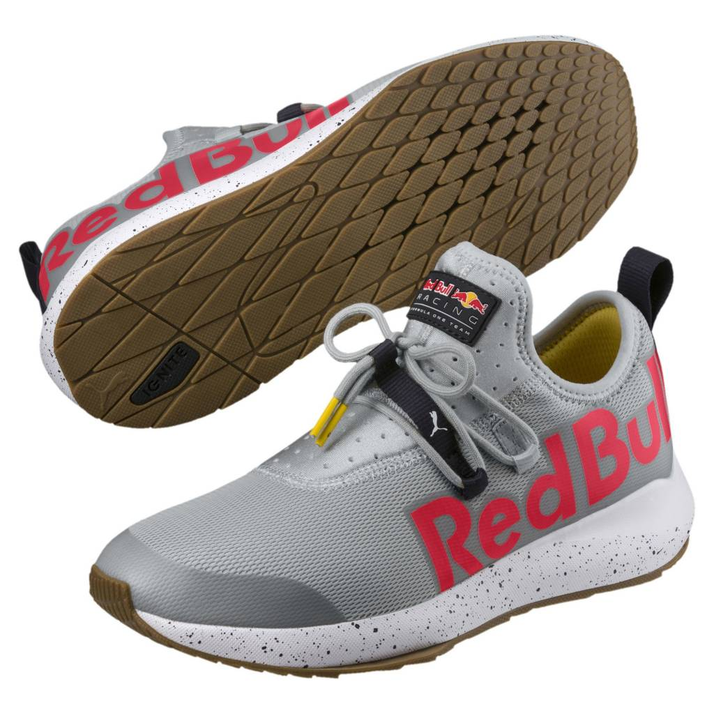 Men's Cat Puma Racing Shoes 02 306188 Evo Flow II Bull Red