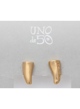 Uno de 50 Golden Horn Earrings - Uno de 50