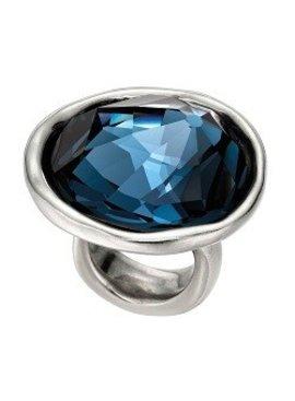 Uno de 50 Blue Swarovski Crystal Ring - Uno de 50