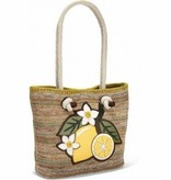 Limone Knotted Soft Tote - H5431Y