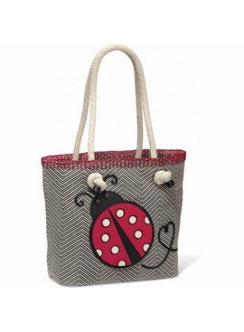 Dotty Knotted Soft Tote